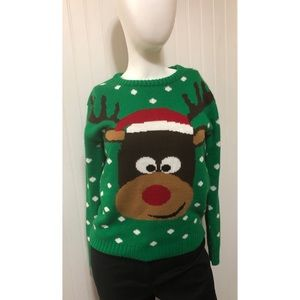 Sweaters - Rudolph Ugly Christmas Sweater